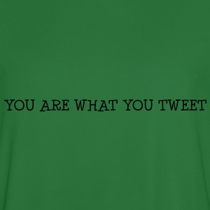 You are what you tweet Sweat-shirts - Maillot de football Homme
