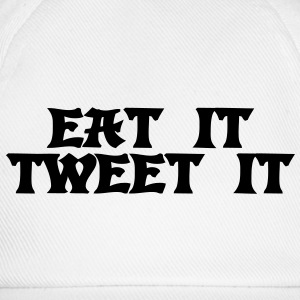 Eat it Tweet it Sweat-shirts - Casquette classique
