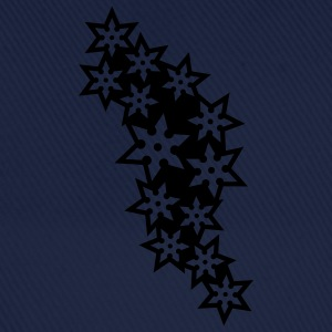 ninja_star_design_outline_1c T-Shirts - Baseball Cap
