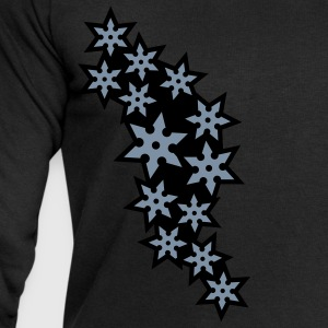 ninja_star_design_2c T-Shirts - Men's Sweatshirt by Stanley & Stella