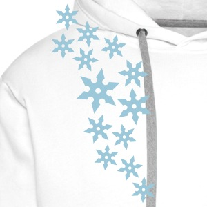 ninja_star_design_1c T-Shirts - Men's Premium Hoodie