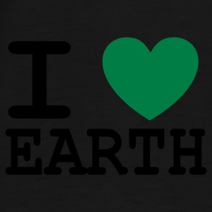 I *heart* Earth - Men's Premium T-Shirt