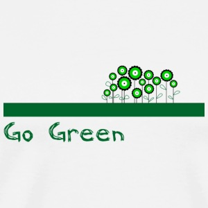 Go Green Bags  - Men's Premium T-Shirt