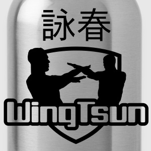 wingtsun1a T-Shirts - Trinkflasche