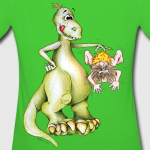 Dino Breakfast Sweaters - Vrouwen Bio-T-shirt