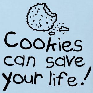 Cookies can save your life Babybody - Økologisk T-skjorte for barn