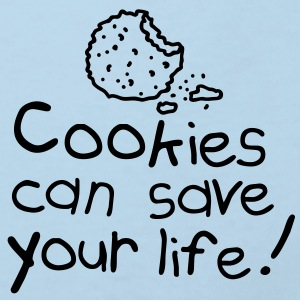 Cookies can save your life Accessories - Kids' Organic T-shirt