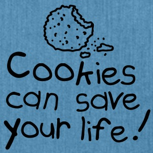 Cookies can save your life Accessories - Skuldertaske af recycling-material