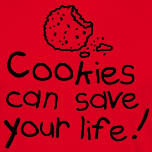 Cookies can save your life  Aprons - Men's T-Shirt