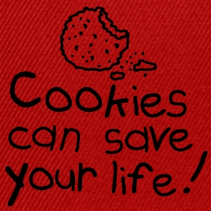 Cookies can save your life Forklæder - Snapback Cap