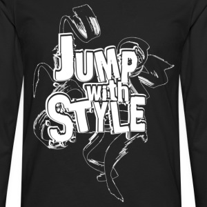jump with style T-Shirts - T-shirt manches longues Premium Homme