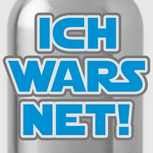 Ich wars net | Ich war es nicht T-Shirts - Water Bottle