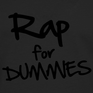 Rap for Dummies T-shirts - Herre premium T-shirt med lange ærmer