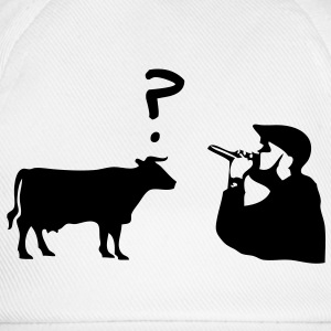 Rap Cow T-Shirts - Baseballkappe