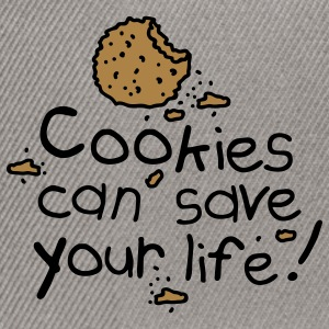 Cookies can save your life Sweatshirts - Snapback Cap