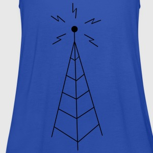 Transmission Tower Sendemast  Aprons - Women's Tank Top by Bella