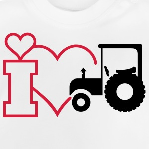 I heart (outline, open, 1c) Kinder T-Shirts - Baby T-Shirt