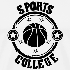 Sport college le Basketball - T-shirt Premium Homme
