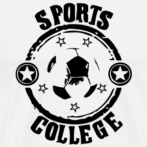 Sport college le football - T-shirt Premium Homme
