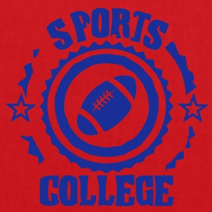 Sport college le football americain - Tote Bag