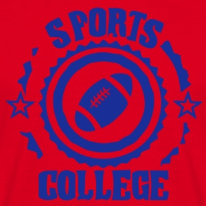 Sport college le football americain - T-shirt Homme