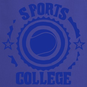 Sport college le tennis - Tablier de cuisine