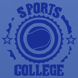 Sport college le tennis - Tote Bag