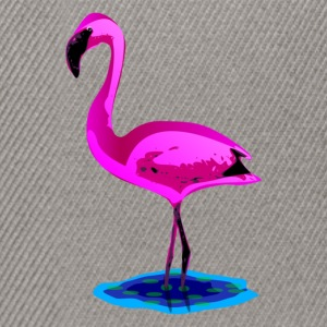 pink flamingo in water T-Shirts - Snapback Cap