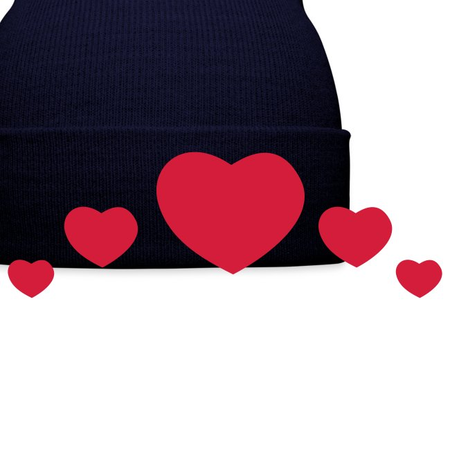 Pug Love x Black Hat Pink Hearts