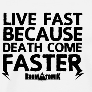 Badge Live fast - T-shirt Premium Homme