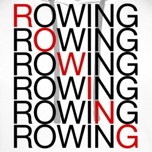 Rowing x7 - Women's Rowing T-Shirt - Men's Premium Hoodie