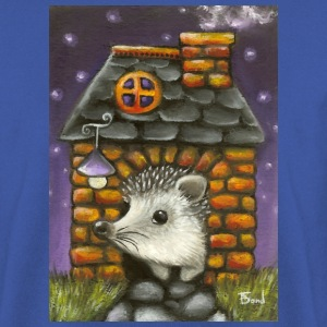 Hedgehog in his home - Men's Sweatshirt
