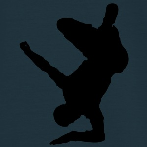 Breakdancer (on elbow) (Vector) - Männer T-Shirt