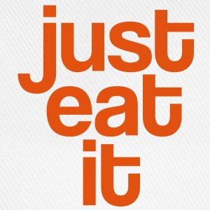 Just eat it - Fun Langarmshirts - Baseballkappe