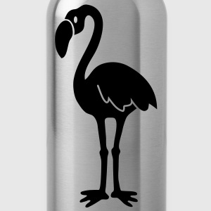 flamingo flamingootje Baby body - Drinkfles