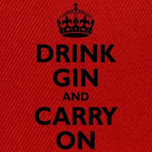 drink_gin_and_carry_on T-Shirts - Snapback Cap
