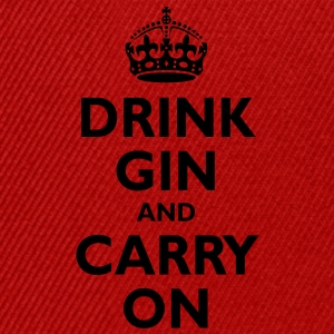 drink_gin_and_carry_on Hoodies & Sweatshirts - Snapback Cap