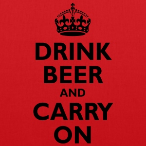 drink_beer_and_carry_on T-Shirts - Tote Bag
