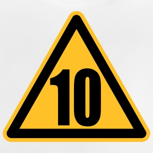 Warning 10 | Achtung 10 Kinder T-Shirts - Baby T-Shirt