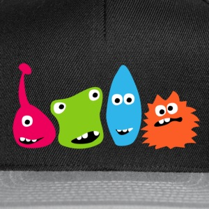 Monsterparty Kinder Monster T-Shirts - Snapback Cap