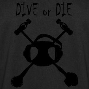 Dive Or Die Logo Phosphorescent - Sweat-shirt Homme Stanley & Stella