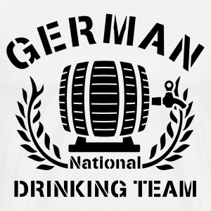 GERMAN NATIONAL DRINKING TEAM - Männer Premium T-Shirt