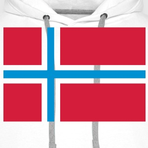 Norge Norway Barneskjorter - Premium hettegenser for menn