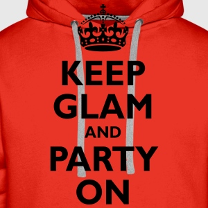 keep_glam T-Shirts - Men's Premium Hoodie