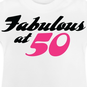 Fabulous At 50 (dd) Kinder shirts - Baby T-shirt
