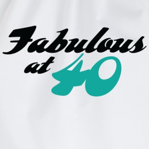 Fabulous At 40 (dd) T-shirt - Sacca sportiva