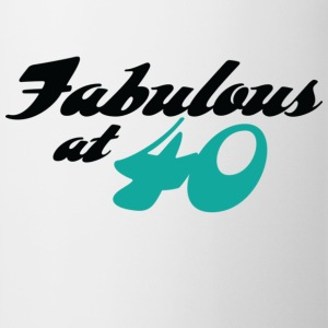 Fabulous At 40 (dd) T-shirt - Tazza