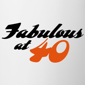 Fabulous At 40 (2c) T-shirt - Tazza