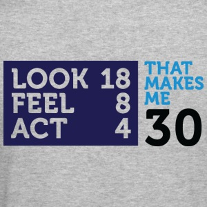 Look Feel Act 30 2 (dd)++ Sweatshirts - Herre Slim Fit T-Shirt