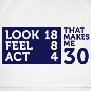 Look Feel Act 30 2 (1c)++ Camisetas - Gorra béisbol